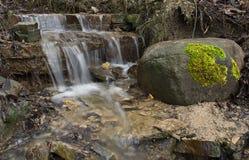 Putnudarza waterfall Stock Photo