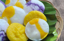 Puto (Rice Cake). Food from the Philippines; Puto (Rice Cake) Puto is a steamed rice cake, it is eaten as it is or with butter and/or grated fresh coconut. (Food royalty free stock photo