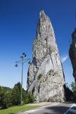 Putréfactions de rocher de roche de Bayard Photographie stock