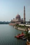 Putra清真寺,马来西亚 库存照片