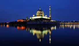 Putra清真寺, Putra Jaya 库存图片