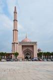 Putra清真寺Masjid Putra 免版税图库摄影