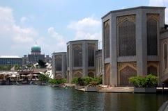 Putra bridge. In Putrajaya, Malaysia.  is the main bridge of Putrajaya city Stock Image