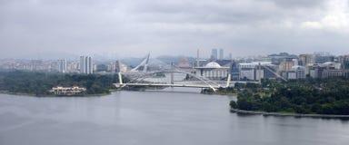 Putra Jaya. Aerial view at Putra Jaya, Malaysia Royalty Free Stock Image
