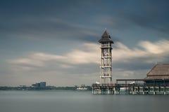 Putra Jaya brzeg jeziora fotografia stock