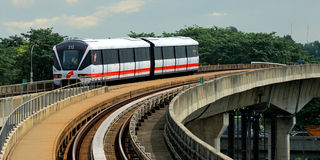 Putra LRT Στοκ φωτογραφία με δικαίωμα ελεύθερης χρήσης