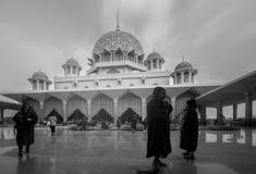 Putra meczet (Masjid Putra) Fotografia Royalty Free