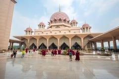 Putra meczet (Masjid Putra) Zdjęcie Stock