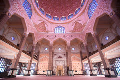 Putra meczet & x28; Masjid Putra& x29; Obrazy Royalty Free
