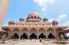 Putra Meczetowy Masjid Putra Zdjęcia Stock