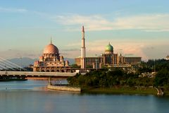 Putra Moschee Stockfotos