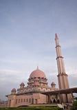 Putra Moschee in Malaysia stockbilder