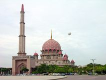 Putra Moschee, Putrajaya, Malaysia Stockfotos