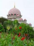 Putra Moschee, Putrajaya, Malaysia Lizenzfreies Stockbild