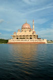 The Putra Mosque. Putra Mosque is the principal mosque of Putrajaya, Malaysia Royalty Free Stock Image
