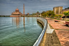 Putra Mosque Royalty Free Stock Image