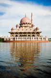 Putra Mosque. View of a mosque at Putrajaya Royalty Free Stock Photography