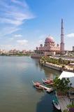Putra Mosque. At Putrajaya, Malaysia Stock Images