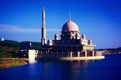 Putra Mosque. Putra Jaya, Wilayah Persekutuan, Malaysia Stock Photography