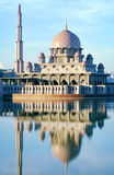 Putra Mosque. Malaysia's landmark Putra Mosque, Putrajaya royalty free stock photo
