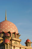 Putra Mosque. In Putrajaya, 2004 stock photo