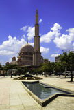 Putra Mosque with blue sky Royalty Free Stock Photo