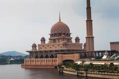 Putra Mosque. In the center of Putrajaya, new administrative capital of Malaysia Stock Photos