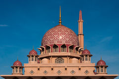 Putra Mosque dome in Putrajaya, Malaysia Stock Photography