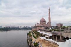 Putra Mosque facade Royalty Free Stock Photos