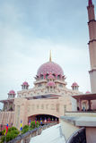 Putra Mosque located in Putrajaya city, Malaysia Royalty Free Stock Image