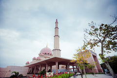 Putra Mosque located in Putrajaya city, Malaysia Royalty Free Stock Photography