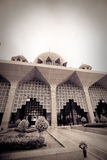 Putra Mosque located in Putrajaya city, Malaysia Royalty Free Stock Images