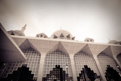 Putra Mosque located in Putrajaya city, Malaysia Stock Images