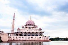 Putra Mosque located in Putrajaya city. Stock Photos