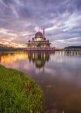 Putra Mosque, Malaysia At Dawn I Stock Image