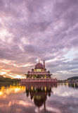 Putra Mosque, Malaysia At Dawn III Stock Photos
