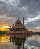 Putra Mosque, Malaysia At Dawn VII Stock Photo