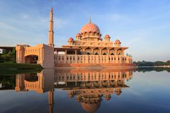 Putra Mosque, Malaysia Royalty Free Stock Images