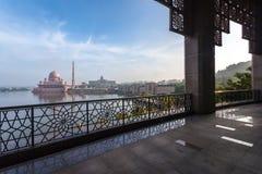 Putra Mosque Malaysia, Putrajaya. Stock Photography