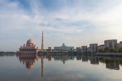 Putra Mosque Malaysia, Putrajaya. Royalty Free Stock Photo