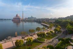 Putra Mosque Malaysia, Putrajaya. Stock Photos
