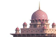 Putra Mosque Malaysia, Putrajaya. Royalty Free Stock Images
