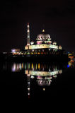 Putra Mosque Night View Stock Photos