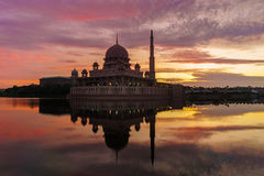Putra Mosque Stock Image