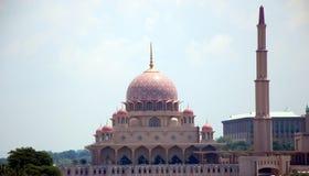 Putra Mosque stock photo