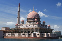 Putra Mosque, Putrajaya Royalty Free Stock Photos
