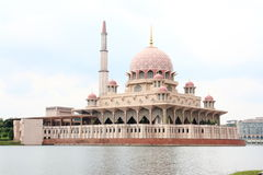 Putra Mosque Putrajaya Royalty Free Stock Photos