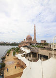 Putra mosque Putrajaya Royalty Free Stock Photography
