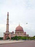 Putra Mosque, Putrajaya, Malaysia Royalty Free Stock Photography