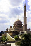 Putra Mosque in Putrajaya Stock Image